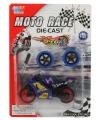Speelgoed motor paars