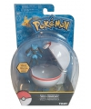 Speelgoed pokeball met riolu 6 cm