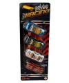 Speelgoed race autos 4 stuks
