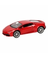 Speelgoed rode lamborghini huracan lp610 4 auto 12 cm
