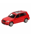Speelgoed rode mercedes benz glk auto 12 cm
