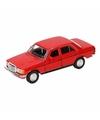 Speelgoed rode mercedes benz w123 16 cm