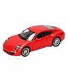 Speelgoed rode porsche 911 carrera s auto 1 36