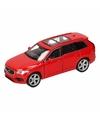 Speelgoed rode volvo xc 90 2015 auto 16 cm