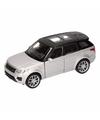 Speelgoed zilveren range rover sport auto 1 36