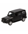 Speelgoed zwarte mercedes benz g class speelauto 12 cm