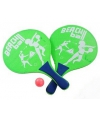 Strand tennisset groen