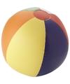 Strandbal opblaasbaar multicolor