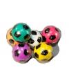 Stuiterbal gekleurde voetbal 3 cm