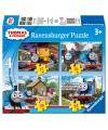 Thomas de trein puzzels 4 stuks