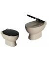 Toilet spaarpot van keramiek