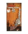 Toppers speelgoed cowboy pistool zilver