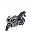 Triumph 675 speelgoed motor zilver 11 cm
