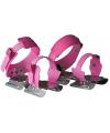 Verstelbare roze kinder schaatsen