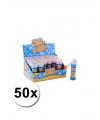 Voordelige kinder bellenblaas 50 ml 50 stuks