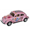 Vw kever modelauto roze