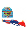 Waterpistool blauw rood 47 cm