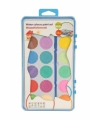 Waterverf met 18 kleuren en penseel