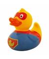 Waterworld badeendje superheld 8 cm