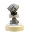 Woezel hondje led nachtlampje 14 cm