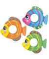 Zwemband vis gekleurd 81 x 76 cm