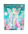 Aankleed stickerboek fantasie topmodels
