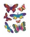 Autoraam stickers vlinders