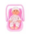 Babypop in draagstoel maxicosi