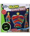 Decoratie speelzand set voor jongens glow in the dark