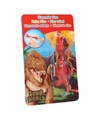 Dino world mini dino katapult t rex rood