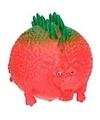 Dino world splash figuurtje rood groen 5 cm