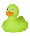 Grote groene badeend 25 cm