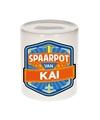 Kinder spaarpot voor kai