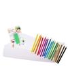 Kleurpakket met potloden en gum