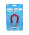 Magneet in de vorm van een hoefijzer 10 cm