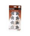 Magneten puzzel stukjes 8 stuks