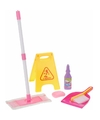 Meisjes speelgoed schoonmaak set 6 delig