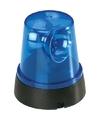 Mini blauwe led zwaailamp 11 cm