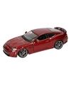 Modelauto jaguar xkr s rood 1 24