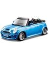 Modelauto mini cooper s cabriolet 1 32