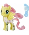 My little pony speelfiguur paardje fluttershy 4 cm