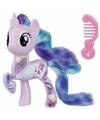 My little pony speelfiguur paardje starlight glimmer 4 cm