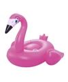 Opblaasbare flamingo ride on 198x140cm
