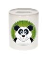 Panda spaarpot voor kinderen 9 cm