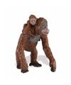 Plastic orang oetan aap met baby 9 cm