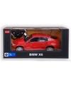 Radiografisch bestuurbare rode bmw x6 auto 1 14