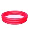 Rood opblaasbaar mini zwembad