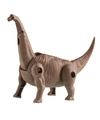 Speelgoed brontosaurus bruine dinosaurus 12 cm