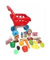 Speelgoed winkelwagentje 22 delig