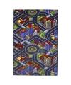 Stad speelkleed met gebouwen en wegen